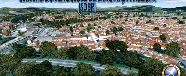 Cenario da cidade e do AEROCLUBE DE BRAGANÇA PAULISTA (DIURNO/NOTURNO) – FSX