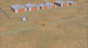 Cenário do Aeroclube de Eldorado do Sul